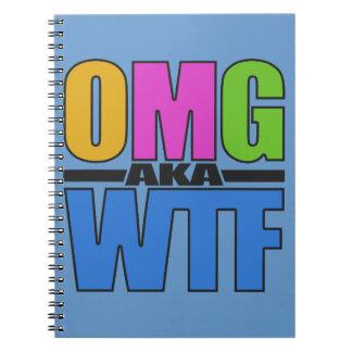OMG aka WTF custom notebook