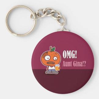 OMG! Aunt Gina!? Keychain