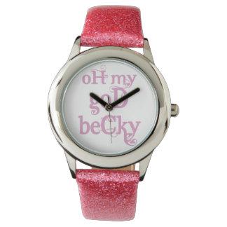 OMG Becky Pink Watch