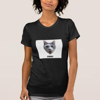 OMG CAT! (what has he seen?) T-Shirt