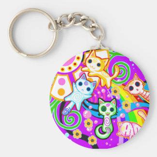 Omg cats key chain