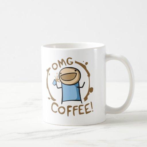 OMG Coffee Basic White Mug