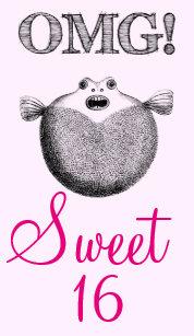 OMG Funny Sweet 16 Birthday Card