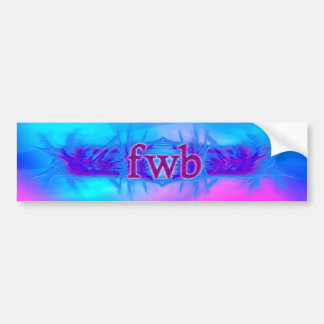 OMG! fwb Bumper Sticker