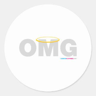 OMG Halo Sticker
