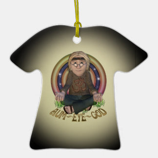 OMG Hippy Personalized T-Shirt Ornament