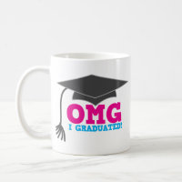 OMG I GRADUATED! great graduation gift