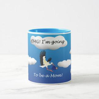 OMG I'm going to be a mum Mug