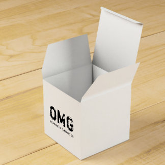 OMG It's Your Birthday Treat Box - Black