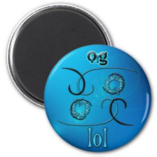 OMG! lmao Refrigerator Magnets