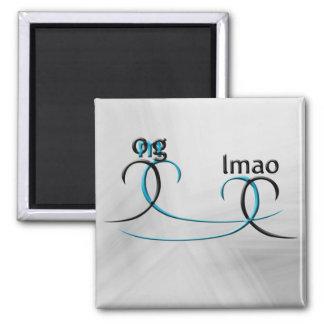 OMG! lmao Fridge Magnet