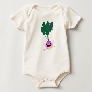 OMG look at that cute little turnip Baby Bodysuit