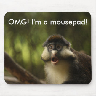 OMG Monkey Mousepad Template