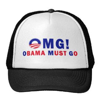 OMG! Obama Must Go! Cap