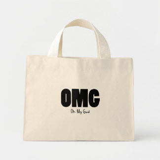 OMG Oh my God Canvas Bags