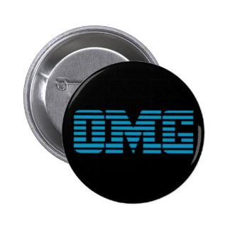 OMG Oh My God Parody Logo 6 Cm Round Badge