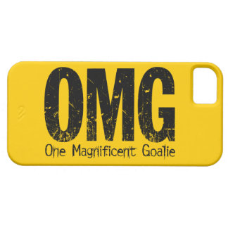 OMG: One Magnificent Goalie (Hockey) iPhone 5 Cover
