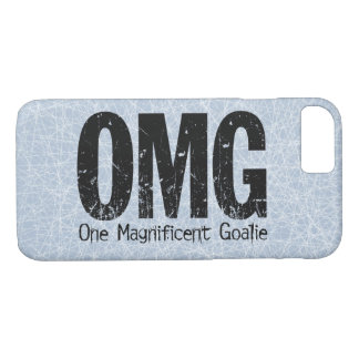 OMG: One Magnificent Goalie (Hockey) iPhone 8/7 Case