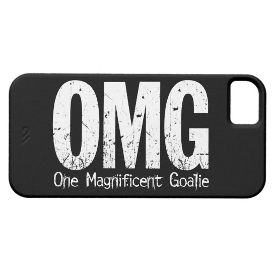OMG: One Magnificent Goalie (Soccer) Case For The iPhone 5