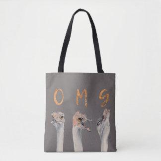 OMG Ostriches Tote Bag