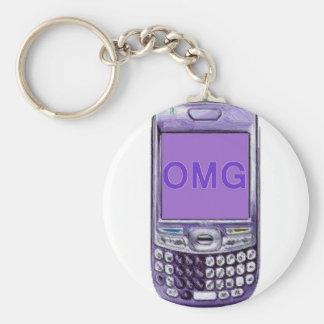 OMG Phone Keychain