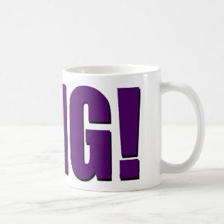 OMG! purple Coffee Mug