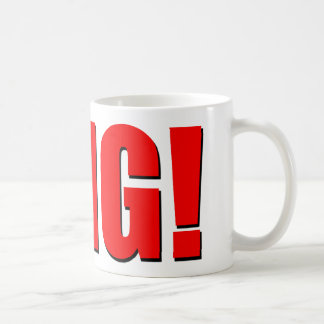 OMG! red Coffee Mug