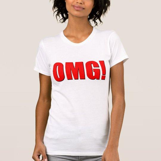 OMG! red T-Shirt