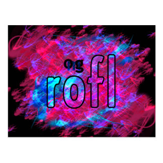 OMG! rofl Postcard
