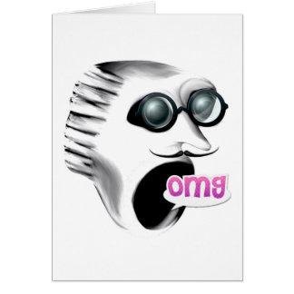 OMG Scream Christmas Card