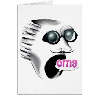 OMG Scream It's Your Birthday Card