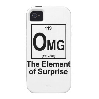 OMG The Element os Surprise Vibe iPhone 4 Case