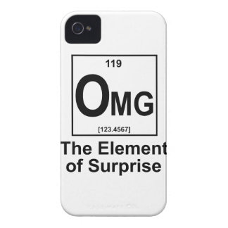 OMG The Element os Surprise iPhone 4 Cases