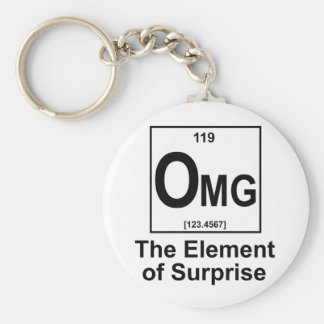 OMG The Element os Surprise Key Ring