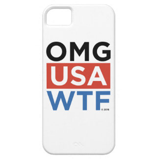 OMG USA WTF iPhone 5 CASE