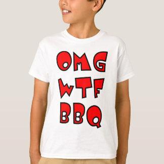 OMG WTF BBQ T-Shirt