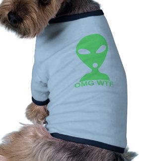OMG WTF Funny Dog Tshirt