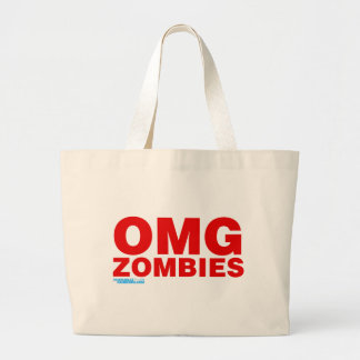 OMG Zombies Canvas Bag