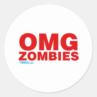 OMG Zombies Sticker