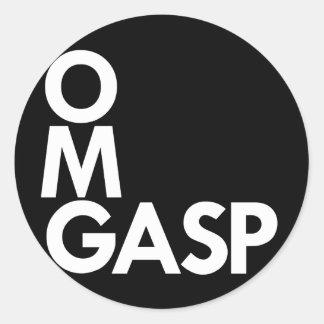 OMGasp Sticker