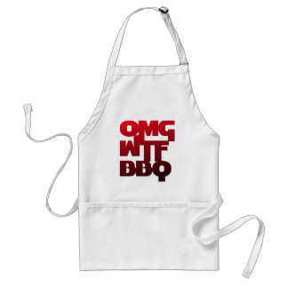 OMGWTFBBQ APRONS