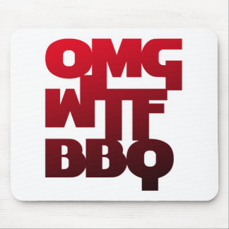 OMGWTFBBQ MOUSEPADS