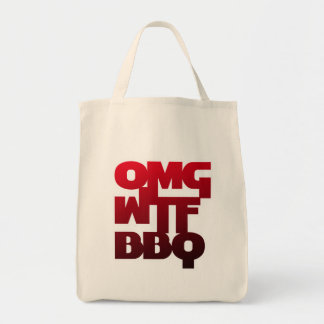 OMGWTFBBQ TOTE BAG