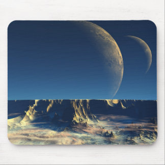 Omin Plateau - Planet Isis Mouse Pads