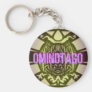 OminOtagO Tribal Keychain