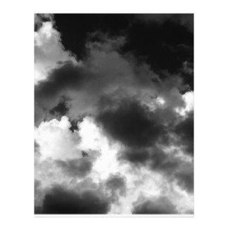 Ominous Clouds 21.5 Cm X 28 Cm Flyer