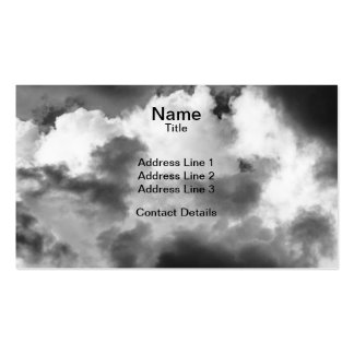 Ominous Clouds Pack Of Standard Business Cards