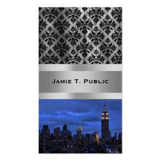 Ominous Clouds: Hurricane Sandy Approaches NYC Double-Sided Standard Business Cards (Pack Of 100)