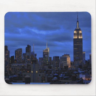 Ominous Clouds: Hurricane Sandy Approaches NYC Mouse Pads