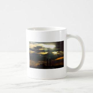 Ominous Power Plant Basic White Mug
